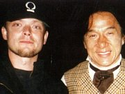 Petr Nůsek a Jackie Chan.