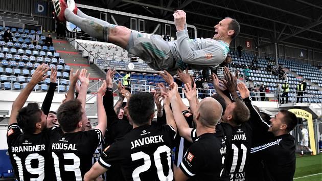 Jaroslav Drobný bude na Slavii zřejmě chybět, s působením v Dynamu se rozloučil už po zápase se Slováckem.