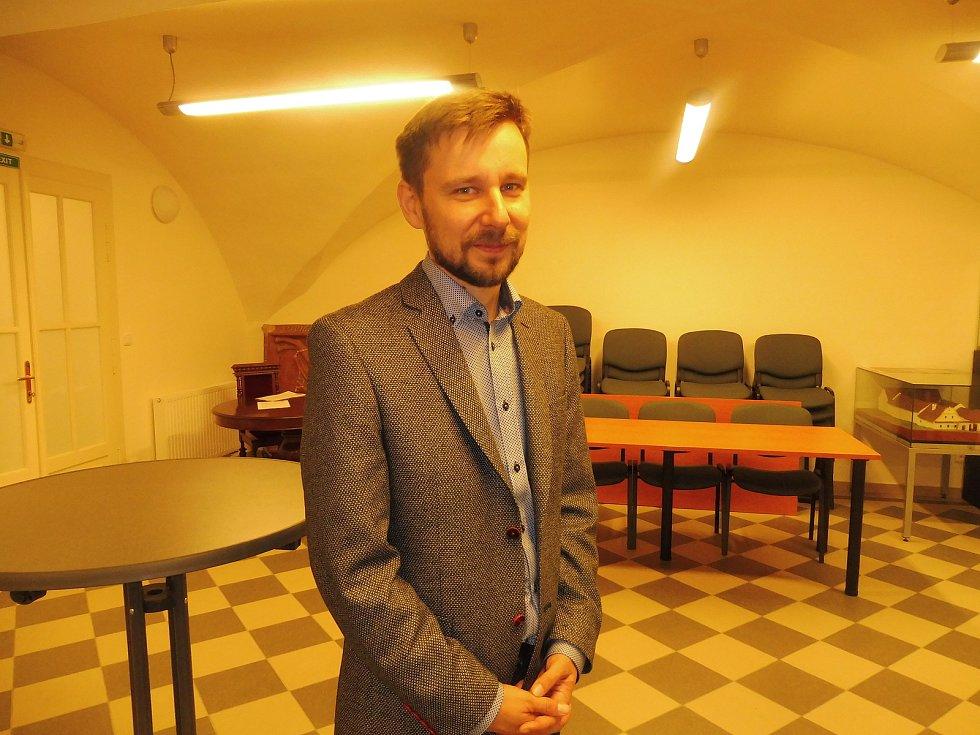 Martin Slaba nastoupil v lednu na 2018 na post kastelána zámku Hluboká nad Vltavou