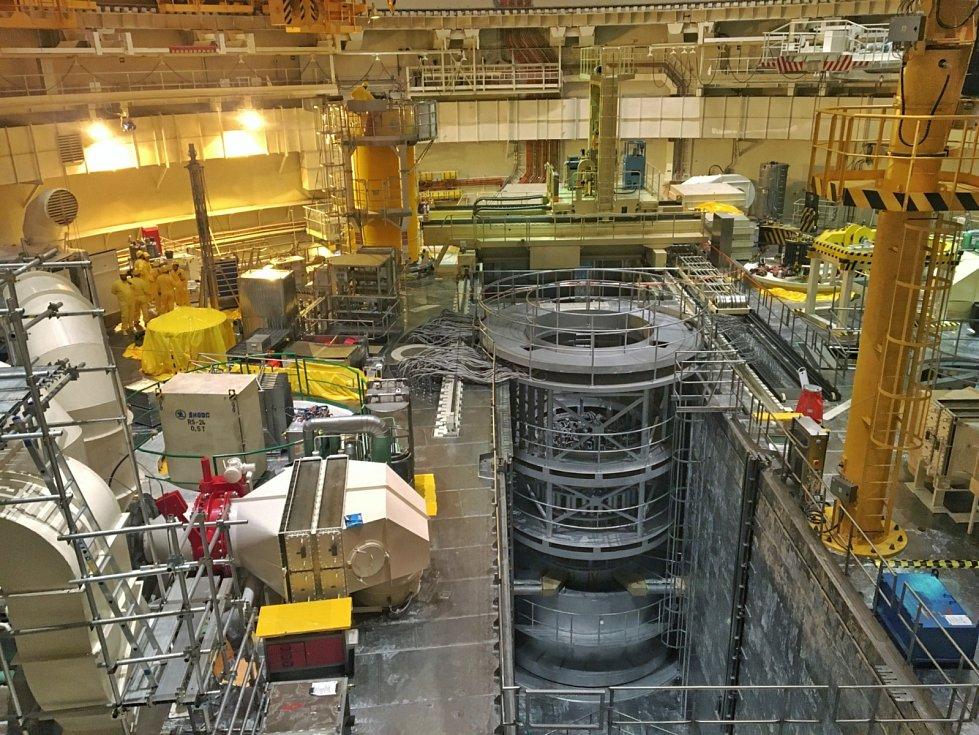 Před dvaceti lety v Temelíně poprvé spustili reaktor prvního bloku (ilustrační foto z odstávky druhého bloku v roce 2018).