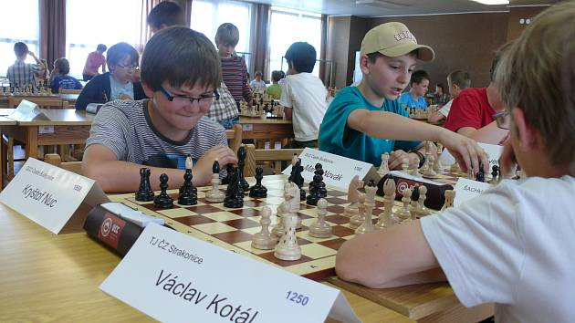 Kryštof Nuc vyhrál šachový turnaj