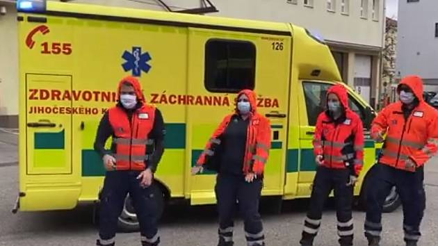 Jihočeští záchranáři natočili video.
