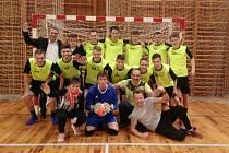 Výborný úspěch Střední průmyslové školy stavební ve futsalu.