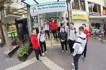 Volejbalisté Jihostroje v Haifě