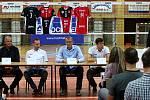 Tisková konference volejbalového Jihostroje České Budějovice