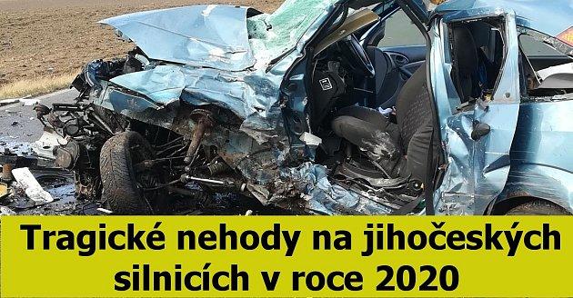 Tragické nehody na jihu Čech.