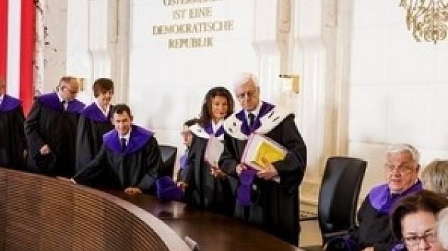 Soudci ústavního soudu čeří vodu.