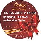 Česko zpívá koledy v Kamenné.