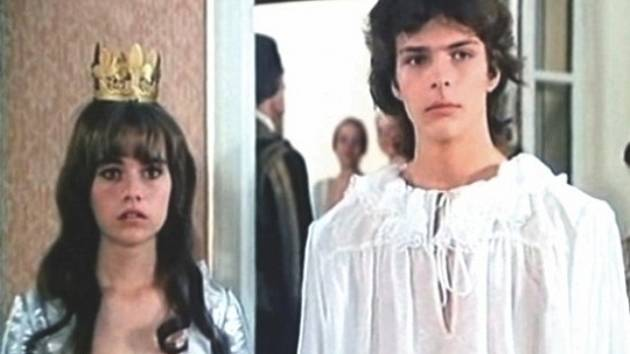 O zatoulané princezně. Ústřední dvojice.