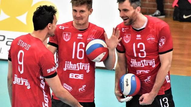 Jihostroj České Budějovice v semifinále extraligy.