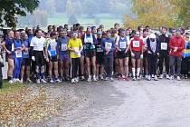 Velešínský půlmaraton 2011 s rekordní účastí, start závodu