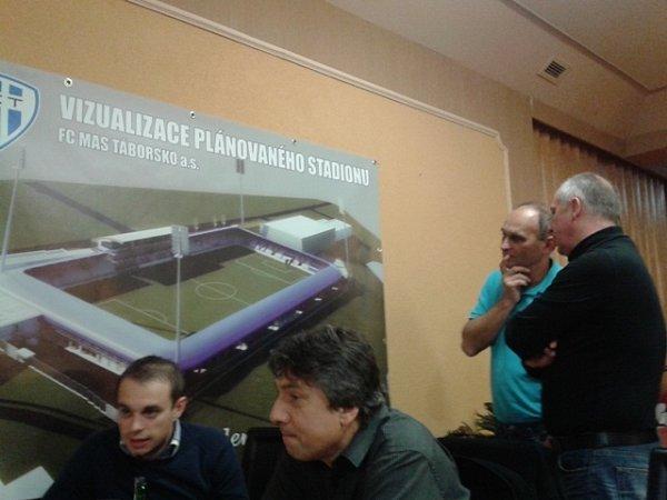Setkání představitelů FC MAS Táborsko.