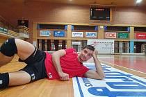 Českobudějovický smečař Tomáš Fila působí na jihu Čech jedenáctou sezonu.