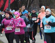 Winter run v Českých Budějovicích na Sokolském ostrově.