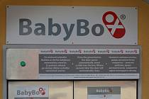 Babybox v Českých Budějovicích.