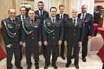 Ples dobrovolných hasičů se konal v pátek 17. ledna v  Borovanech.