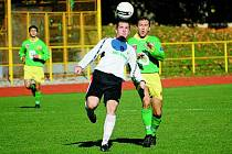 Martin Ondrik a Martin Kováčik  (vpravo), Prachatice doma hrály nerozhodně s Admirou 2:2.