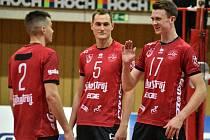 Volejbalisté Jihostroje České Budějovice v sezoně 2019/20.