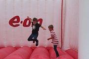 Již potřetí se náměstí Přemysla Otakara II. proměnilo ve sportovní hřiště. Děti si mohou vybrat z dvanácti sportů.