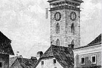 Kněžská ulice na dobové pohlednici.