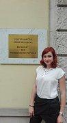 Ústav česko-německých areálových studií a germanistiky FF JU se snaží své studenty již v průběhu studia vysílat na zkušenou do zahraničí.  Štěpánka Ryklová – Velvyslanectví ČR ve Vídni.
