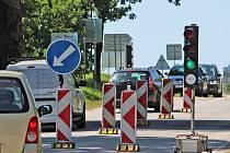 Dopravu budou řídit semafory