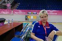 Manažerka české ženské volejbalové reprezentace Michaela Procházková v Almaty
