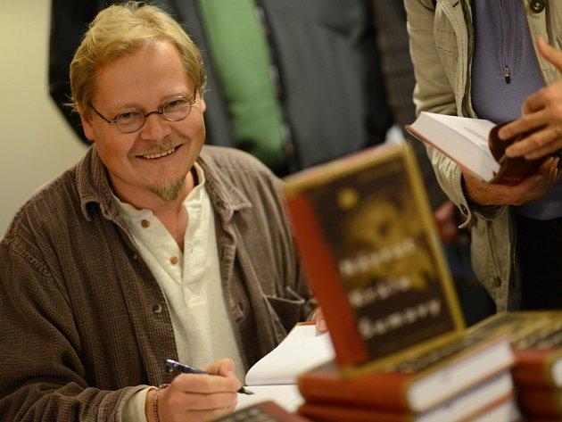 Spisovatel David Jan Žák.