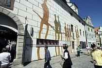 Egon Schiele Art Centru v Českém Krumlově.