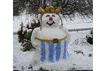O krále sněhuláků Bavorského lesa.