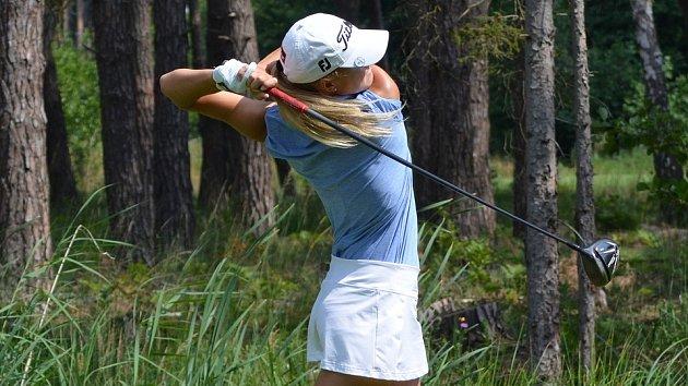 Pátý titul pro golfistku z Hluboké nad Vltavou, Gabriela Roberta Vítů