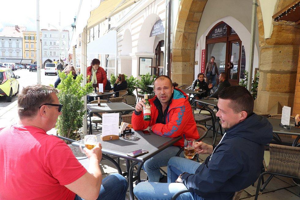 Předzahrádky v Českých Budějovicích,náměstí Přemysla Otakara II
