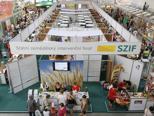 Státní zemědělský intervenční fond se výstavy Země živitelka účastní pravidelně.