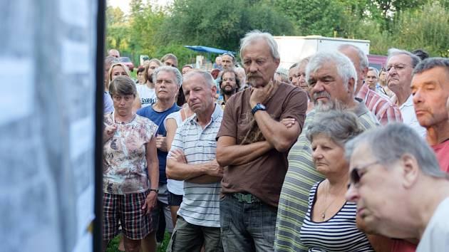 S velkou pozorností veřejnosti se setkalo další setkání u Malého jezu o chystaných protipovodňových opatřeních.