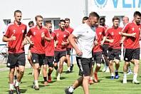 Fotbalisté Dynama se ve středu z Lipna, kde jsou od pondělí na týdenním soustředění, přesunou do Čelákovic na přípravné utkání proti pražské Slavii.
