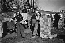 Ženy v estonském koncentračním táboře.