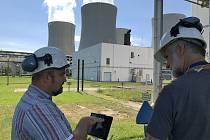 """Laserový detekční systém, který chrání střechy vybraných budov proti hrozbám """"ze vzduchu"""", otestovala v těchto dnech Policie ČR a společnost ČEZ v Jaderné elektrárně Temelín."""