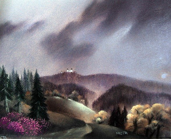 Obraz Pavla Kalisty.