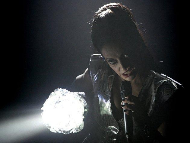 Lucie Bílá zakončila své turné ve vyprodané Budvar aréně v Českých Budějovicích.