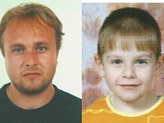Pohřešovaní František Šafář starší a jeho desetiletý syn František.