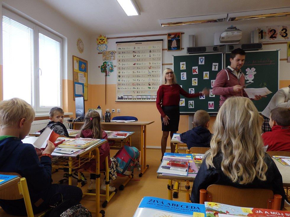 Začátek školního roku na ZŠ Dubné