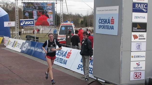 Lucie Sekanová je nejlepší atletkou Jihočeského kraje