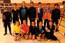 Badmintonisté z Českého Krumlova patřili na turnaji k nejlepším.