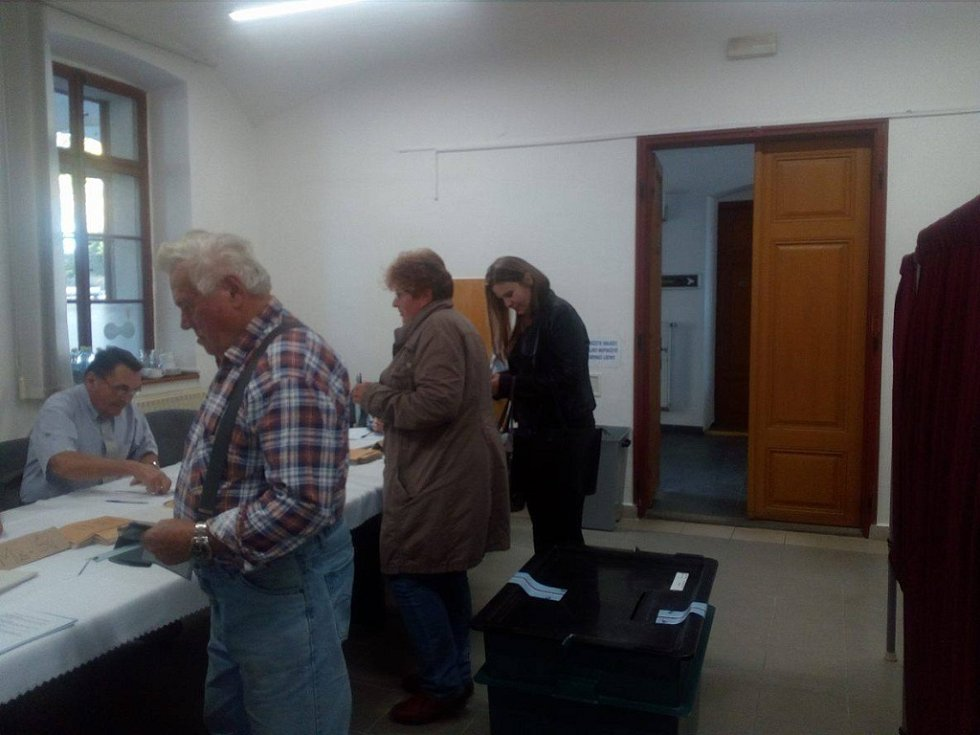 Volby v Trhových Svinech.