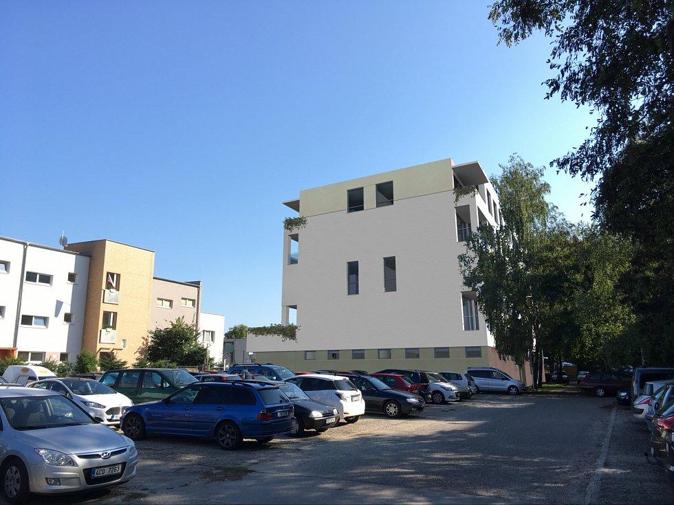 Na budějovickém sídlišti budou místo výměníku tepla byty.