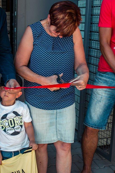 Otevření nového sportovního areálu Hajský v Dubném.