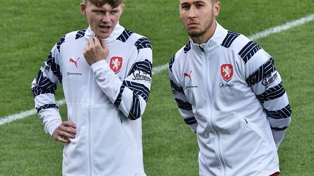V kvalifikaci ME 21 v září proti Chorvatsku v Č. Budějovicích nastoupili v základu ČR U21 oba hráči Dynama: jak Pavel Šulc (pro zranění ale brzy odstoupil), tak i Filip Havelka (vpravo).