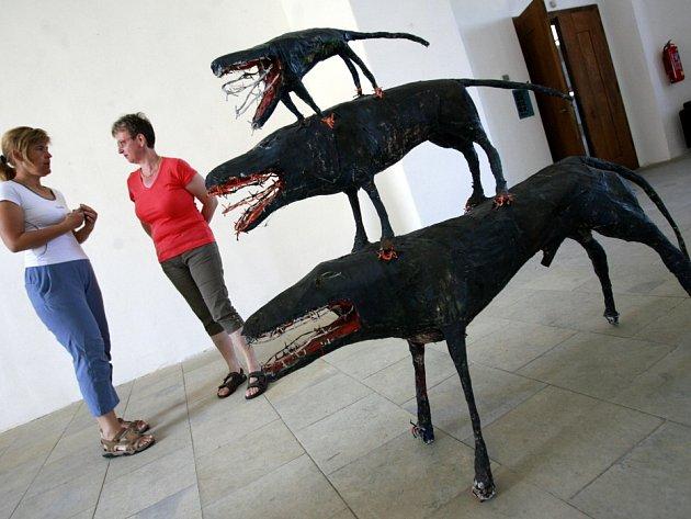 Plastiky sochaře Michala Gabriela