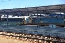 V sobotu ráno došlo na českobudějovickém hlavním nádraží ke srážce dvou posunovacích lokomotiv.