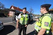 Policejní akce v Žárovné.